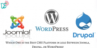 Which One is the Best CMS Platform in 2020 Between Joomla, Drupal, or WordPress