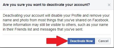 delete facebook account without waiting 14 days