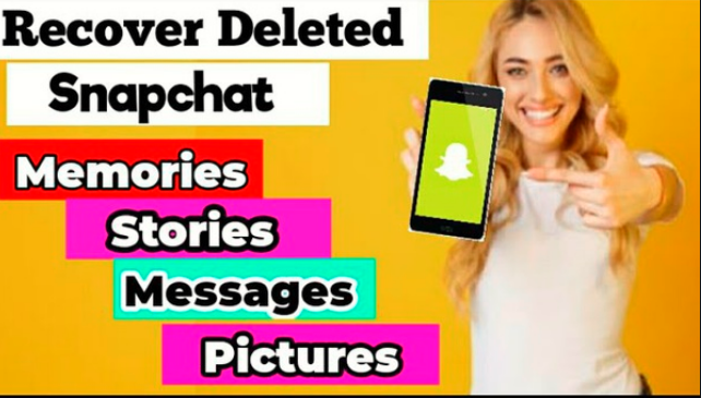 Recover deleted snapchat