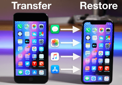 how to transfer data to a new iPhone